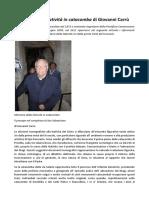 Giovanni Carrù Memorie Della Natività in Catacomba