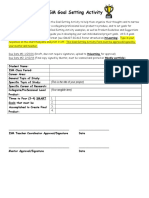ism goal setting activity- template  1