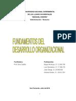Disciplina Del Desarrollo Organizacional
