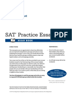 5KS01E Practice Essay