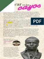 Bolivar en Los Cayos