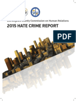 2015 Hate Crime Report PDF