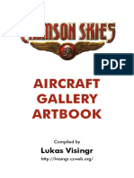 Crimson Skies - Aircraft Gallery