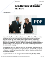 How to Save the Euro by George Soros | The New York Review of Books