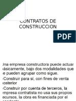 Contratos de Construccion