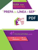 Convocatoria Prepaenlineasep 2016 4 Guiaderegistro