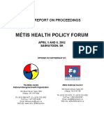 Metis Health Policy Forum