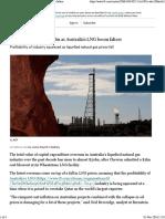 Cost overruns near $50bn as Australia's LNG boom falters