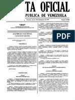 Constitucion de La Repulica de Venezuela 30-12-199