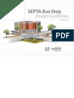 SEPTA Bus Stop Design Guidelines 2012