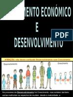 Desenvolvimento e Crescimento Económico