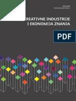 Academica Kreativne Industrije i Ekonomija Znanja 2009