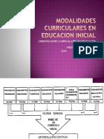 Modalidades Curriculares en Educacion Inicial Ultimo