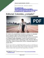 Editorial Colombia Compite Revista Dinero Nov 10 2016