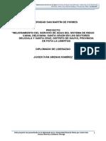 Perfil Proyecto Inversión Publica Deliciana Final