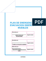 Plan de Emergencias Modelo