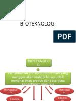 bioteknologi