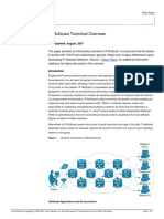 IP Multicast Technical Overview