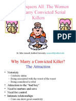 Serial Killer Weddings