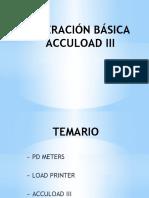 OPERACIÓN BÁSICA ACCULOAD