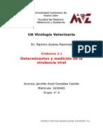 Determinantes y medición de la virulencia viral