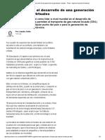 Argentina Lidera El Desarrollo de Una Generación de Gasoductos Virtuales
