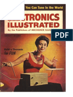 Theremin 1961 Electronics Illustrated