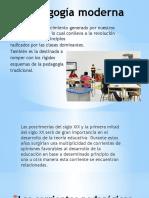 Pedagogía Moderna