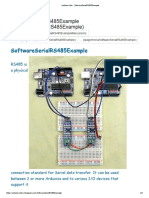 Arduino Info SoftwareSerialRS485Example