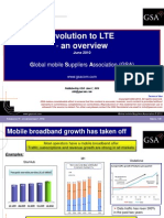 Evoluton to LTE an Overview June 2010