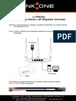 l1-Rw333l - Repetidor Universal