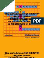 Mategrama 1 Matemáticas-Primaria