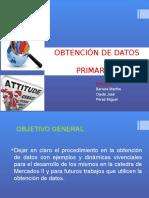 Exposicion Obtención de Datos Mercado II