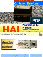 Hajj - Pilgrimage To Makkah