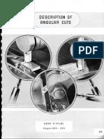 Description of Angular Cuts