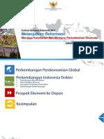 OUTLOOK EKONOMI (ECONOMIC OUTLOOK) INDONESIA 2017