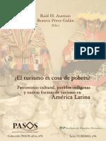 ¿El turismo es cosa de pobres?. Patrimonio cultural, pueblos indígenas y nuevas formas de turismo en América Latina
