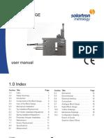 501512 Analogue Block Gauge Manual