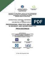 Proceedings of GEO 2016