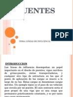 Lineas de Influencia Exponer
