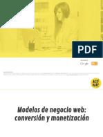 Monetización Web