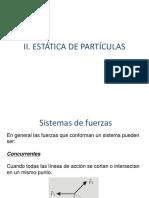 II_Estática de Partículas