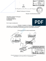Proyecto de Reforma Electoral de la provincia de Neuquén