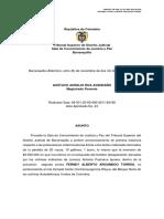 03.11.2016 DECISION DEFINITIVA LORENZO PUSHAINA.pdf
