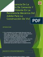 La Influencia de La Inclusión de Cemento Y