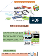FOROS EDUCATIVOS WEB