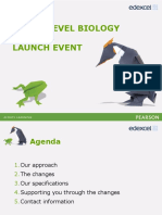 As and a Level Biology 2015 Launch Event Presentation New