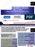 GSM 3G Market Update May 2010
