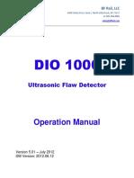 BF Rail DIO 1000 User Guide 1