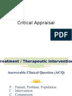 Critical Appraisal 1
